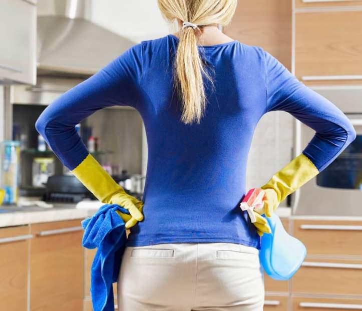 Весь дом необходимо вымыть мыльным раствором с уксусом, пропылесосить мягкую мебель