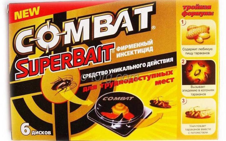 Препарат «Комбат» – это удобный и достаточно эффективный препарат для уничтожения клопов