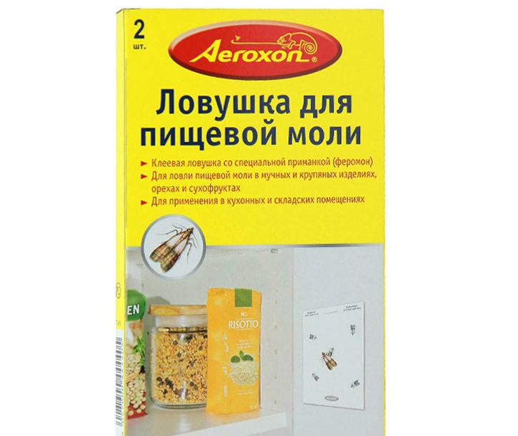 Самый безопасный способ избавиться от заражения пищевой молью – использовать ловушки на основе феромонов