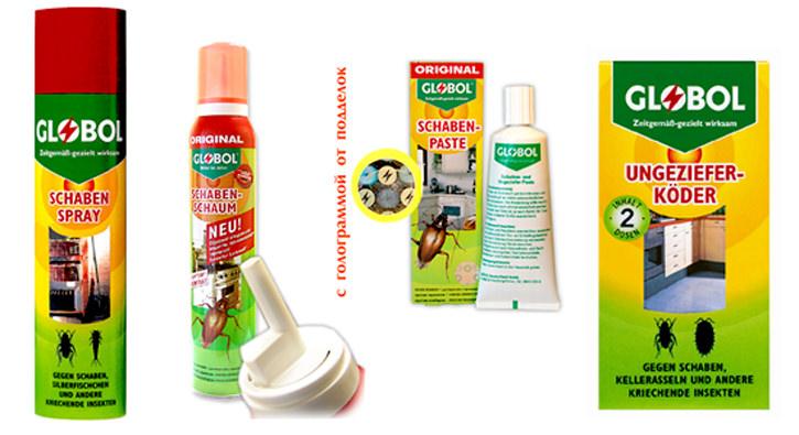 Основной принцип действия  данного средства заключается в обязательном наличии контакта насекомого с гелем