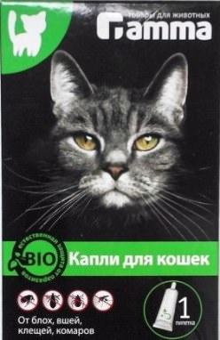 Капли от блох «Гамма» защищают животных от нападения блох, вшей, власоедов, клещей