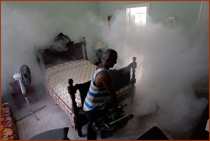 Препарат проникает во все щели и может запросто оказаться в соседней квартире и нанести непоправимый урон