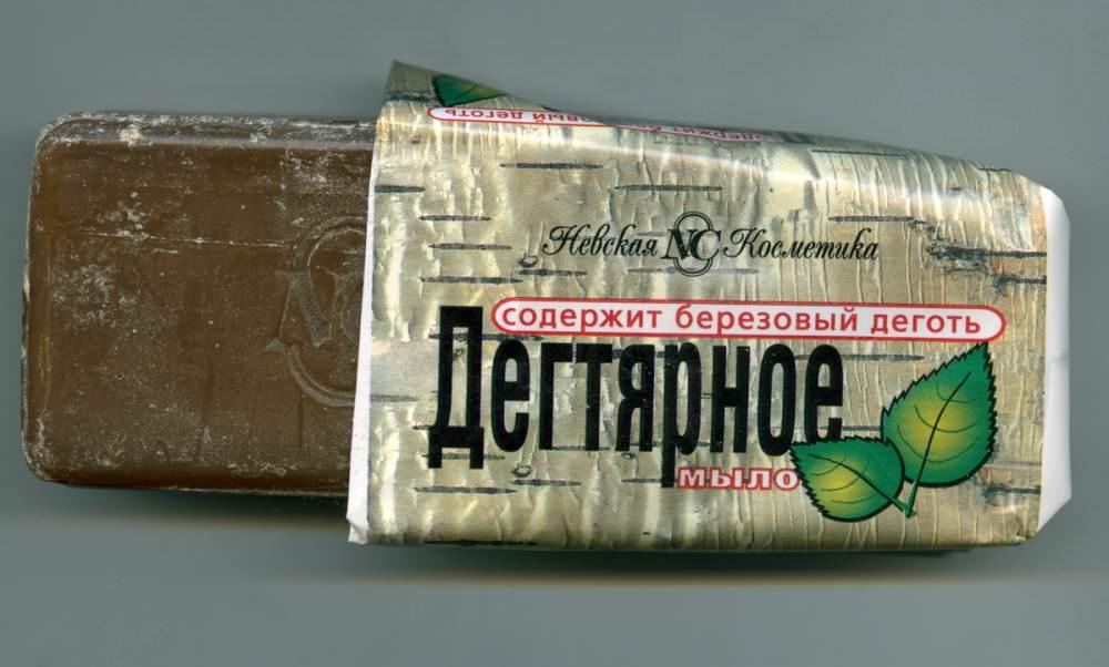 Дегтярное мыло – действенное народное средство против блох