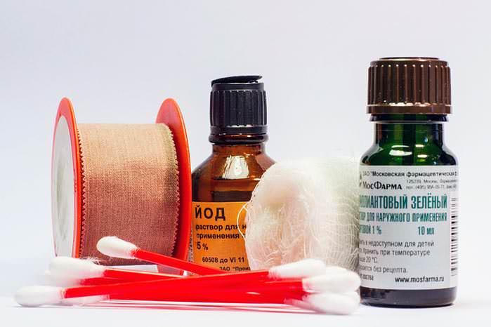 Блохи являются переносчиками опасных заболеваний, поэтому надо обработать укус антисептиками