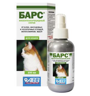 «Барс» – высокоэффективное средство, которое поможет избавиться от блох, клещей и других паразитов
