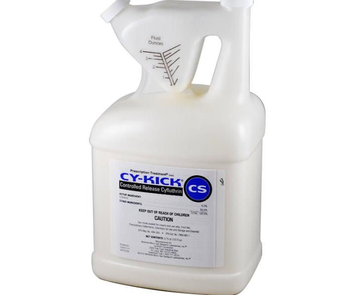 Морить тараканов рекомендовано инсектицидом «Cy-Kick CS»