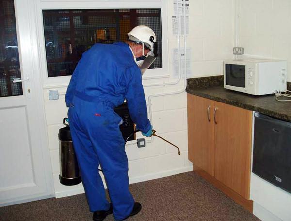 Обрабатывая квартиру «Регентом», необходимо соблюдать правила безопасности