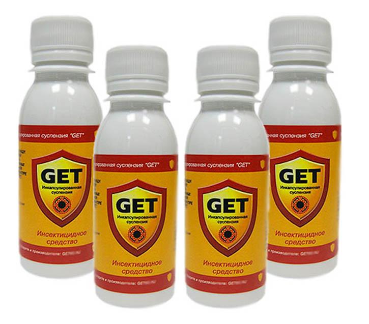 «Гет» – химсредство эффективно вплоть до самого смывания