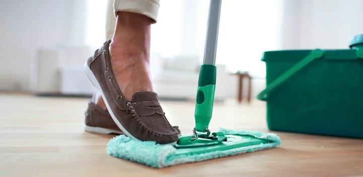 За 2 часа до пользования помещением проводится влажная уборка