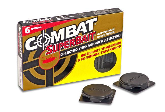 «Комбат» относится к высокоэффективным средствам, применяемым в борьбе с прусаками