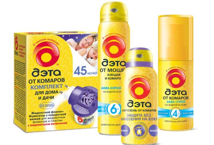 «Дэта» – одно из эффективных индивидуальных средств защиты от комаров
