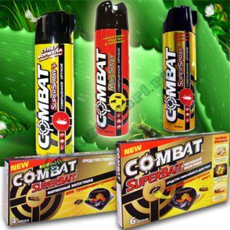 «Комбат» – доступное и эффективное средство, позволяющее избавиться от клопов без особых временных и физических затрат