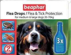 Капли «Вeaphar» от блох выпускаются компанией с многолетней традицией