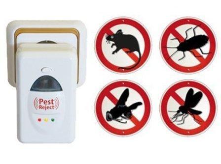 Едва появившись в продаже, pest reject - прибор, отпугивающий насекомых ультразвуком, получил невероятную популярность