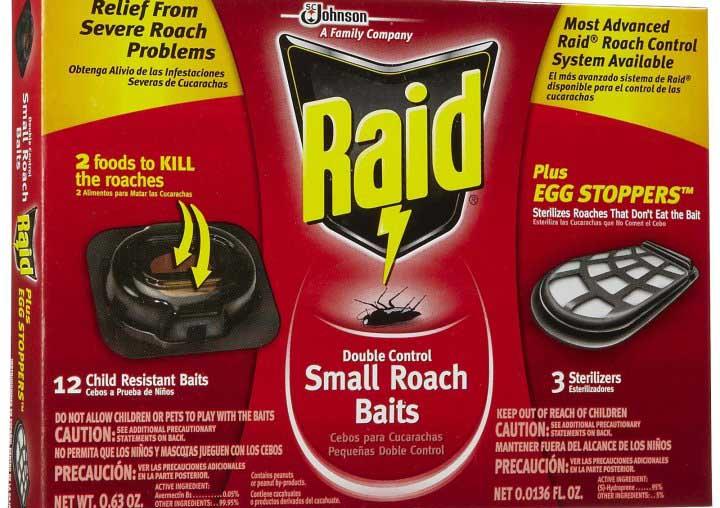 Ловушки «Рейд» не только отравляют тараканов, но еще и стерилизуют их