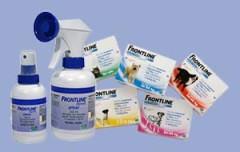 Капли и спрей из серии ФРОНТЛАЙН относятся к эффективным инсекто-акарицидным препаратам от блох